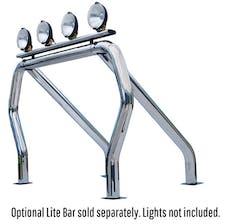 Go Rhino 9109370SSS RHINO! Bed Bar - Complete kit: Main bar + Kickers