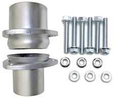 "Hedman Hedders 21151 2 1/2"" MILD STEEL COLLECTOR BALL FLANGE KIT"