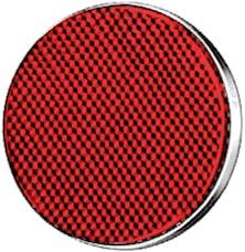 Hella Inc 002016111 2016 Red 85mm Round Reflex Reflector
