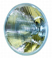 Hella Inc 002395301 Vision Plus Halogen Conversion Headlamp 7 165mm HB2 12V (SAE approved)