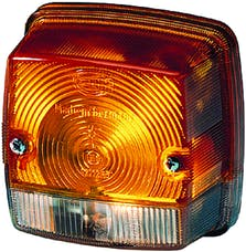 Hella Inc 003014257 3014 Amber/White Turn/Side Marker Lamp