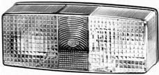 Hella Inc 003184051 LAMP TURN/MRKR 3184 LH ECE