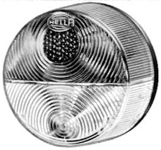 Hella Inc 003185031 3185 Amber/White Turn/Side Marker Lamp