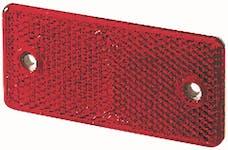 Hella Inc 003326001 3326 Red Rectangular Reflex Reflector