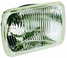 Hella Inc 003427861 190 x 132mm H4 Single High/Low Beam Headlamp Kit