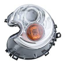 Hella Inc 354477291 HLMP BI-XEN LH MINI W/O AUTO ADJ W/ AMB