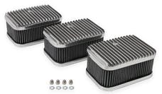 Holley 120-105 3X2 AIR CLEANERS & FILTERS, SET OF 3
