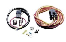 Holley 185FH 185 Degree Thermo-Switch; Relay/Harness