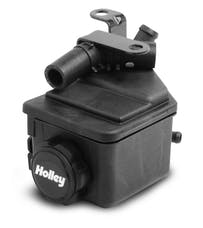 Holley 198-200 P/S EXT RESERVOIR KIT WRKS W/HI ACC BKT