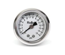 Holley 26-504 FUEL PRESS GAUGE,0-15PSI