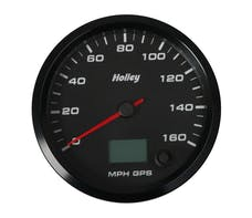 Holley 26-610 4-1/2 HOLLEY 160 GPS SPEEDO-BLK