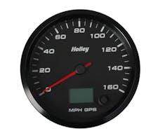 Holley 26-612 3-3/8 HOLLEY 160 GPS SPEEDO-BLK