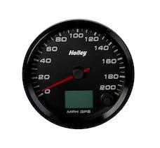 Holley 26-613 3-3/8 HOLLEY 200 GPS SPEEDO-BLK