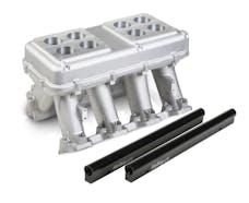 Holley 300-114 LS3 HI-RAM, INTAKE MANIFOLD EFI, 2 X 450