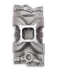 Holley 300-255 INTAKE MNFLD CATHEDRAL SPLIT SGL-PLN EFI