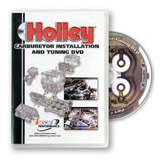 Holley 36-381 DVD - CARB INSTALLATION - PLASTIC CASE