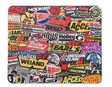 Holley 36-447 HOLLEY STICKERBOMB MOUSE PAD