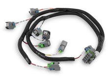 Holley 558-212 INJECTOR HARNESS, FORD, USCAR, EVENLY SP