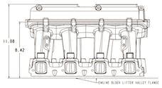 Holley 300-113BK LS3 HI-RAM, INTAKE MANIFOLD CARB, 2 X 41