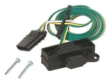 Hopkins Towing 48595 4-Wire Flat Mounting Bracket