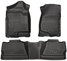 Husky Liners 98201 Weatherbeater Series Front & 2nd Seat Floor Liners (Footwell Coverage)