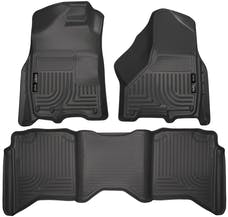 Husky Liners 99001 Weatherbeater Series Front & 2nd Seat Floor Liners