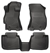 Husky Liners 99671 Weatherbeater Series Front & 2nd Seat Floor Liners