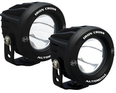 "Iron Cross Automotive OP3R-ICKIT 3.75"" LED Light Kit, 860 Lumen Each, 10 Degree Beam"