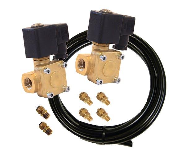 Kleinn Automotive Air Horns 6885 Ultra BlastMaster™ Upgrade Kit-For 230 horn with VX6003 brass solenoid valves