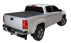 LOMAX Covers B1050069 Aluminum Low Profile Hard Tri-Fold Tonneau Cover