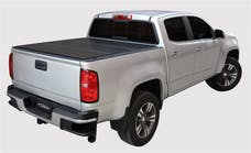 LOMAX Covers B1050049 Aluminum Low Profile Hard Tri-Fold Tonneau Cover