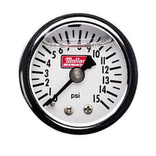 Mallory 29138 Mallory, Gage, Fuel Press,0-15psi,Mchncl