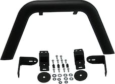 MBRP Exhaust 130716 Front Light Bar/Grill Guard System; Black Coated