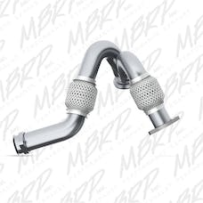 MBRP Exhaust FAL2313 Pipe;Turbo Up Ford Dual AL
