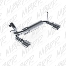 MBRP Exhaust S5528409 2 1/2in. Axle Back; Dual Rear Exit; T409