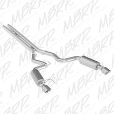 MBRP Exhaust S7239AL 3in. Cat Back; Dual Split Rear; Street Version; 4.5in. tips AL