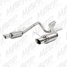 MBRP Exhaust S7257409 3in. Cat Back; Dual Split Rear; Street Version; T409