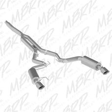 MBRP Exhaust S7274409 3in. Cat Back; Dual Split Rear; Street Version; 4.5in. tips; T409