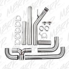 MBRP Exhaust S8120409 4in. Turbo Back; Dual SMOKERS™; 409