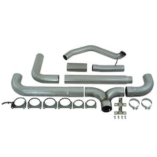 MBRP Exhaust S8210AL 5in. Turbo Back; Dual SMOKERS™; AL