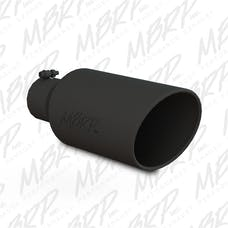 MBRP Exhaust T5126BLK Black Series Exhaust Tip