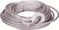 Mile Marker 19-50020C 3/8in. x 100 ft. Cable/Hook
