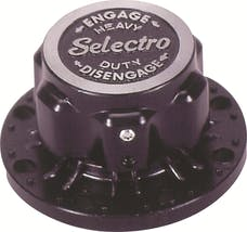 Mile Marker 11017-01 Classic Selectro Locking Hub