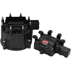 MSD Performance 84113 Black Extreme Output Dist. Cap, GM HEI