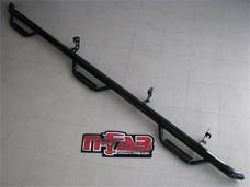 N-FAB F1596CC-6 Nerf Step Step Systems Gloss Black Bed Access