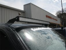 N-FAB C9950LR Roof Mounts L.M.S. Gloss Black 50 Series