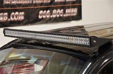 N-FAB T0550LR Roof Mounts L.M.S. Gloss Black 50 Series