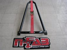 N-FAB BM1TCBK Bed Mounted Tire Carrier Gloss Black