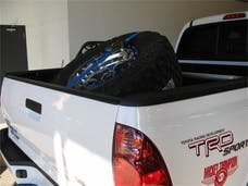 N-FAB BM1TCBL-TX Bed Mounted Tire Carrier Textured Black