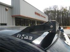 N-FAB D0250LR-TX Roof Mounts L.M.S. Textured Black 50 Series